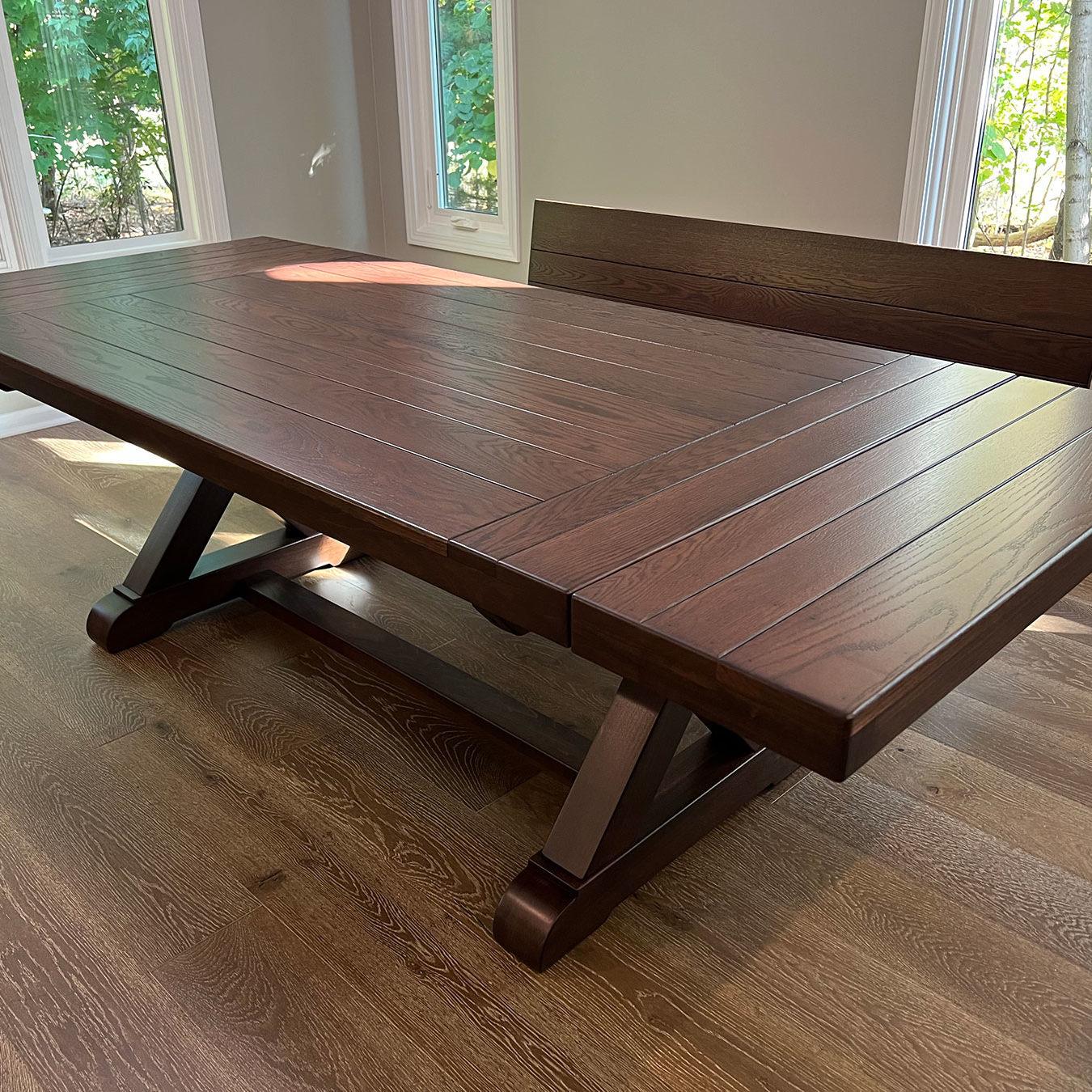 the fulton trestle farmhouse table
